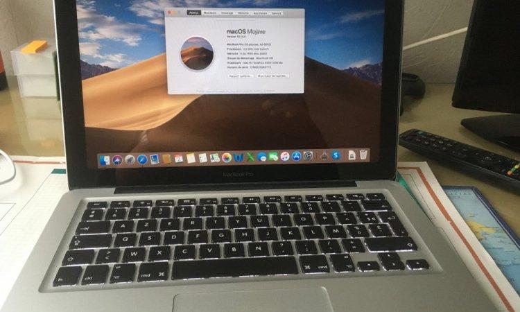 Installation macbook pro